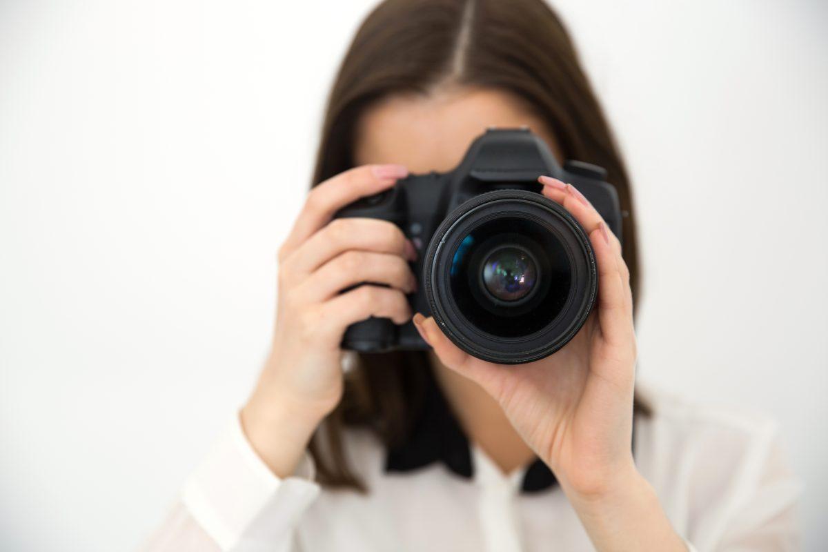 De fotograaf op school